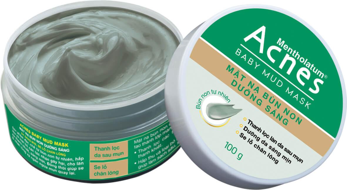 Acnes Baby Mud - Cứu tinh cho làn da dầu