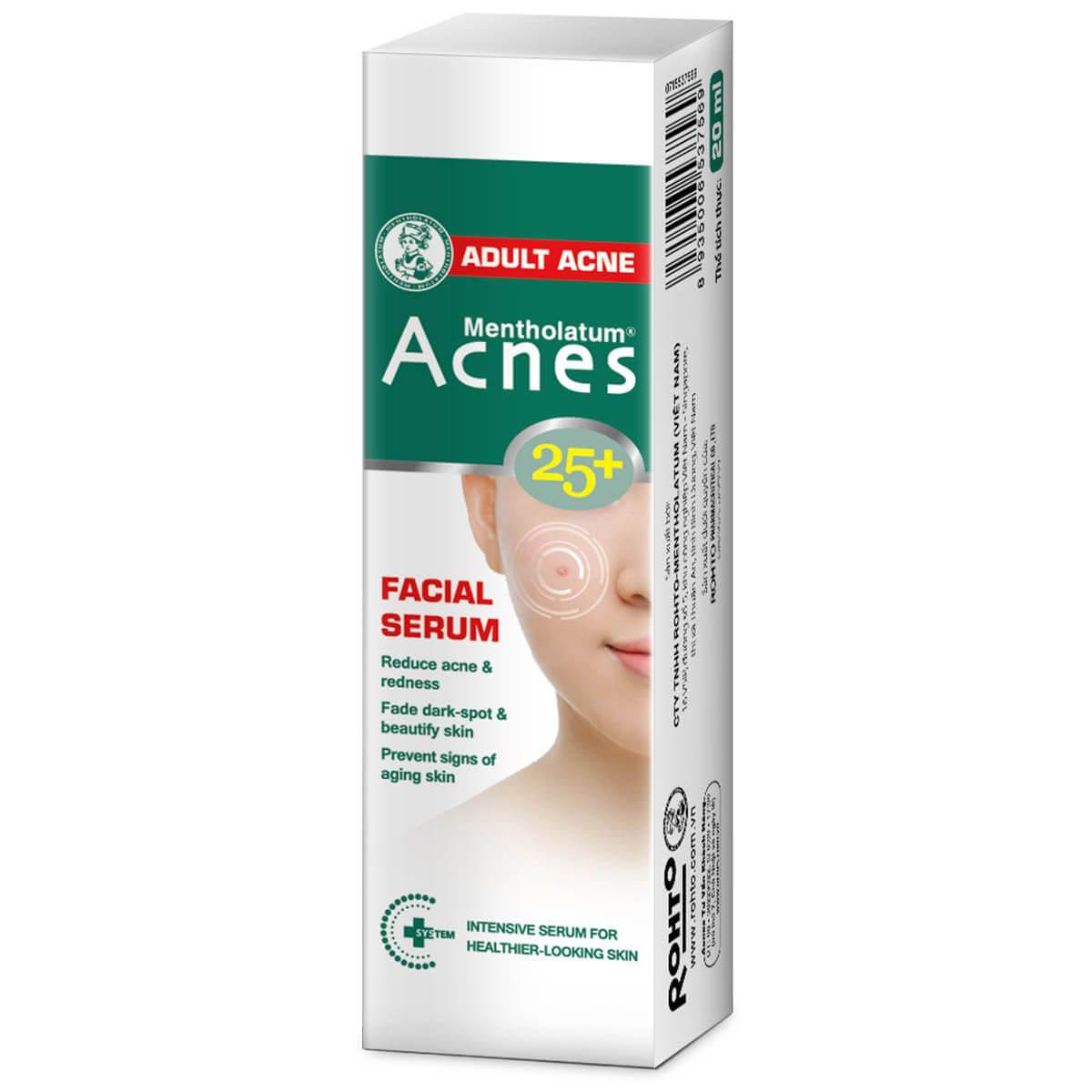 Acnes 25+ Facial Serum - Tinh Chất Chuyên Biệt Cho Da Mụn