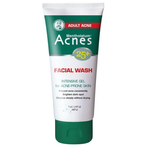 Gel rửa mặt trị mụn Acnes 25+ Facial Wash - Trị mụn tuổi trưởng thành hiệu quả