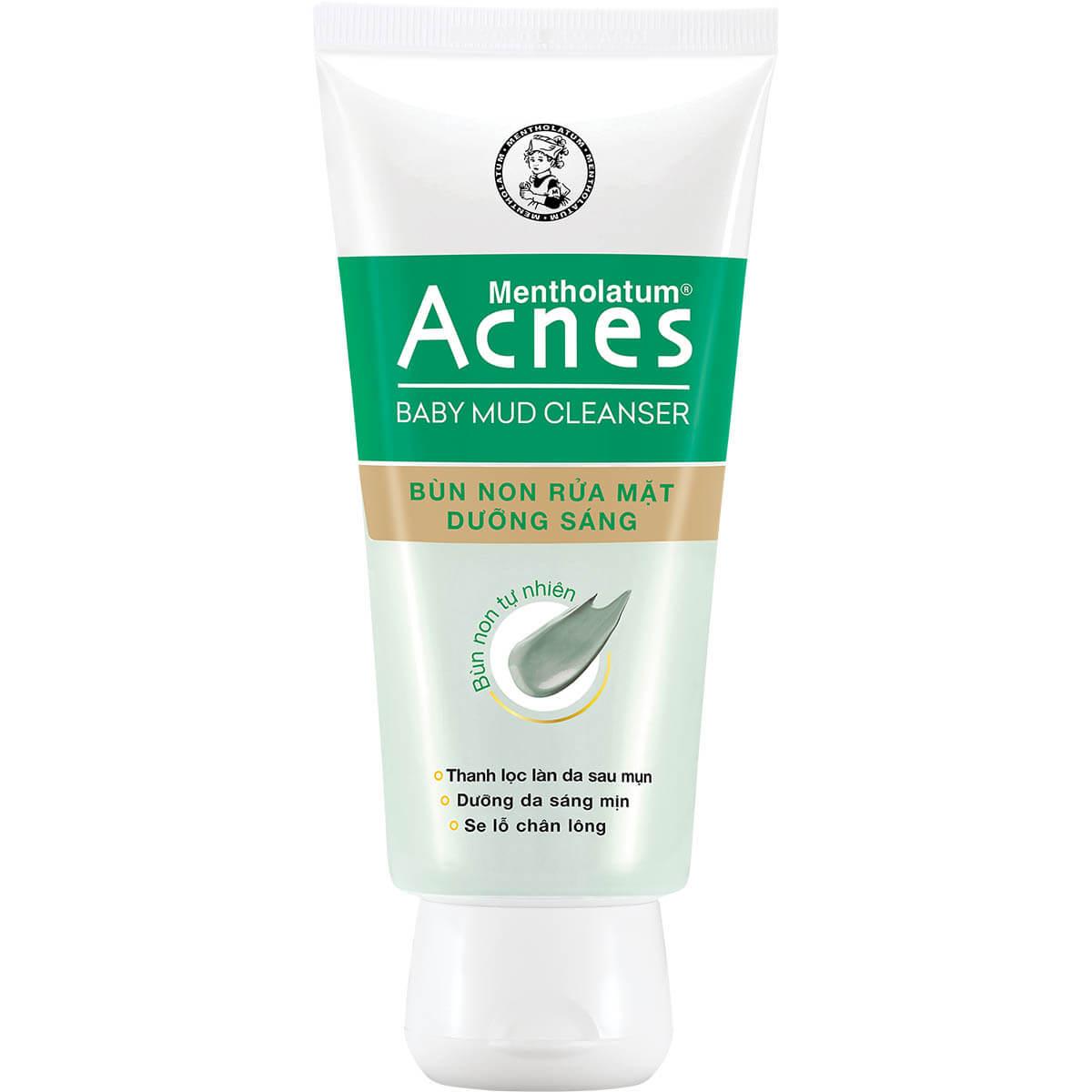 Acnes Baby Mud Cleanser - Bùn non rửa mặt dưỡng sáng da Giá 63.000đ