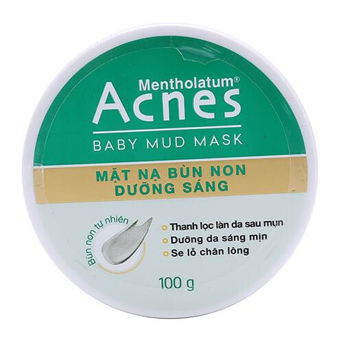 Acnes Baby Mud Mask - Mặt nạ bùn non Acnes dưỡng da