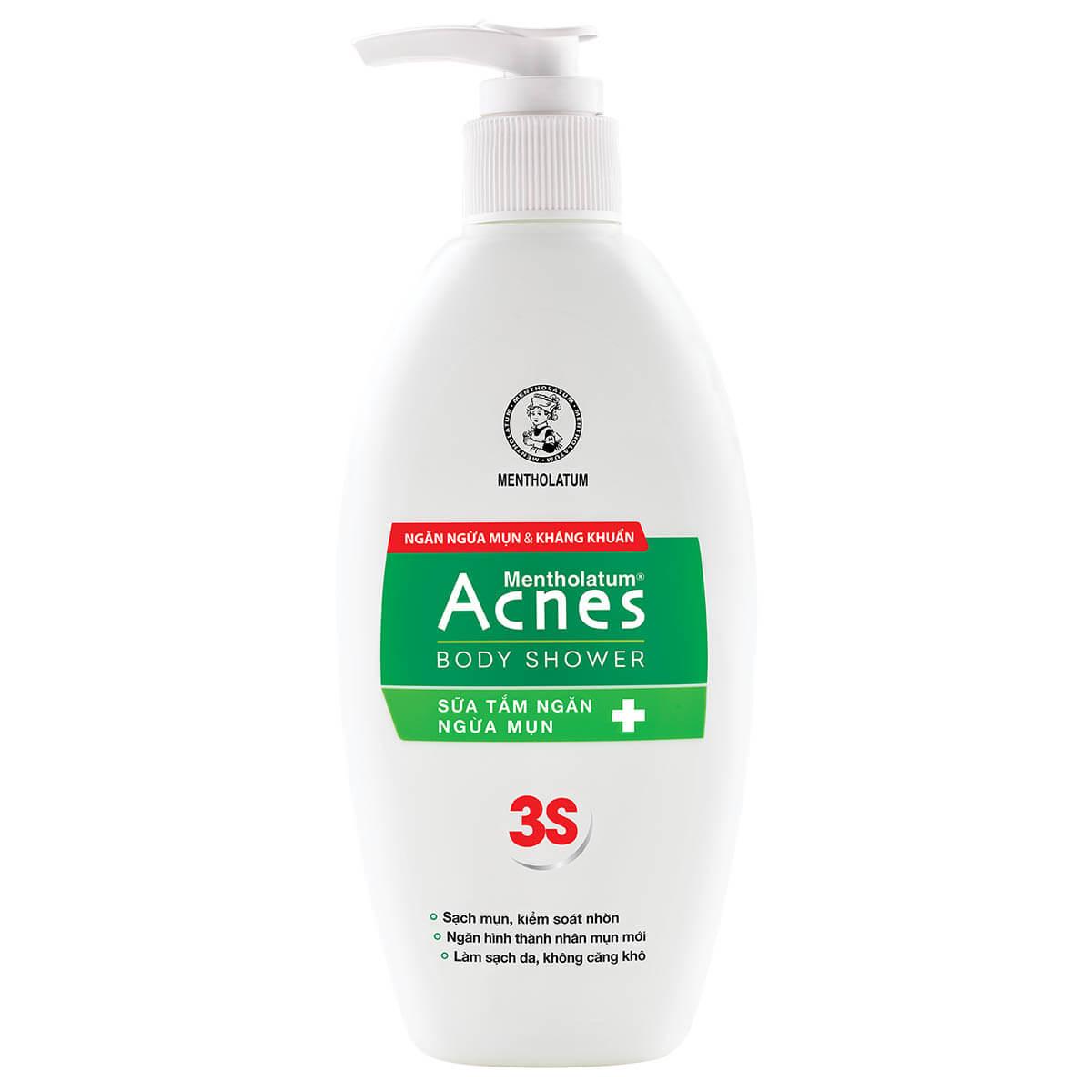 Acnes Body Shower - Sữa Tắm Trị Mụn Lưng - Giá: 74.000đ / 180gr