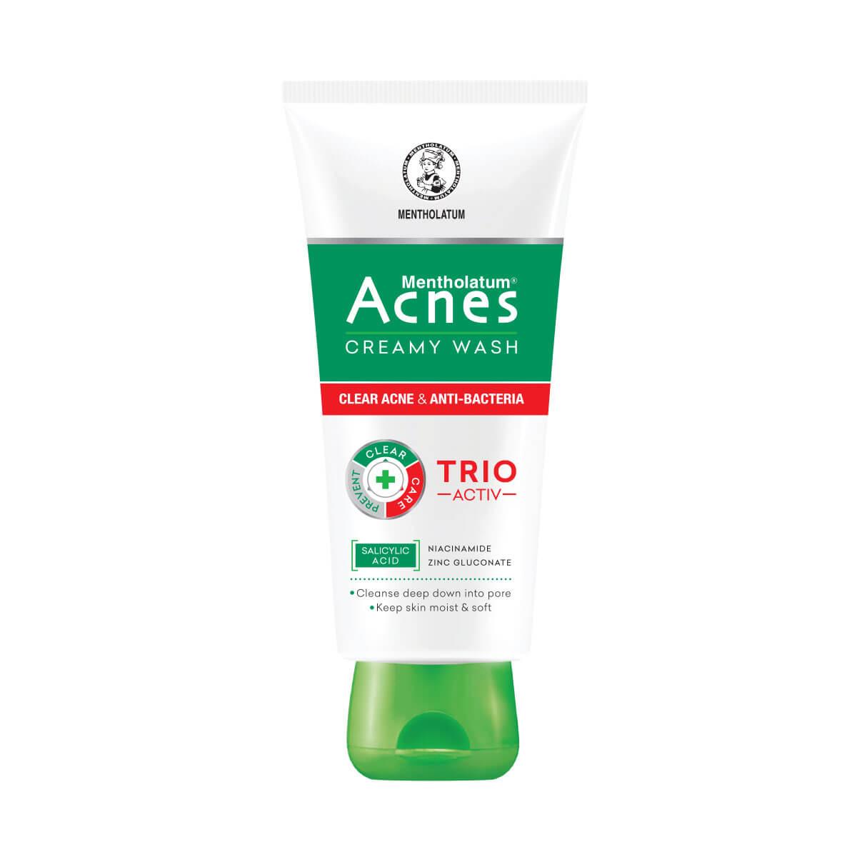 A 25g_Acnes Creamy Wash – Kem rửa mặt ngăn ngừa mụn 5060