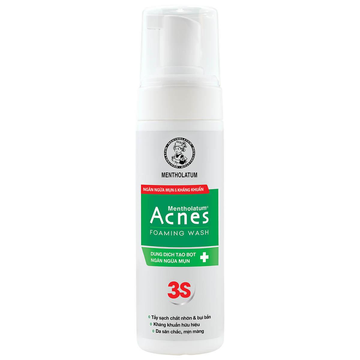 Acnes Foaming Wash - Dung dịch tạo bọt ngăn ngừa mụn - Giá: 65.000đ