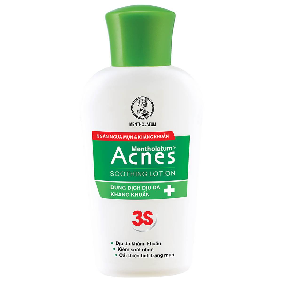 acnes soothing lotion, lotion lam diu da khang khuan, lotion cung cap do am