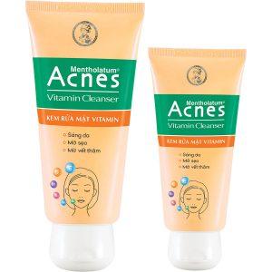 Acnes Vitamin Cleanser - Sữa rửa mặt dưỡng da Acnes