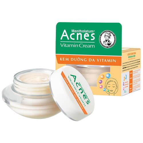 Acnes Vitamin Cream - Kem dưỡng da Vitamin | Giá 83.000đ / 40gr
