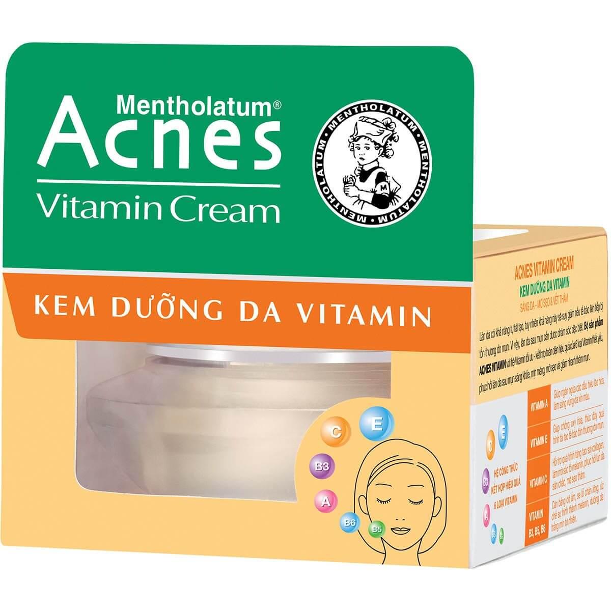 Acnes Vitamin Cream - Kem dưỡng da Vitamin