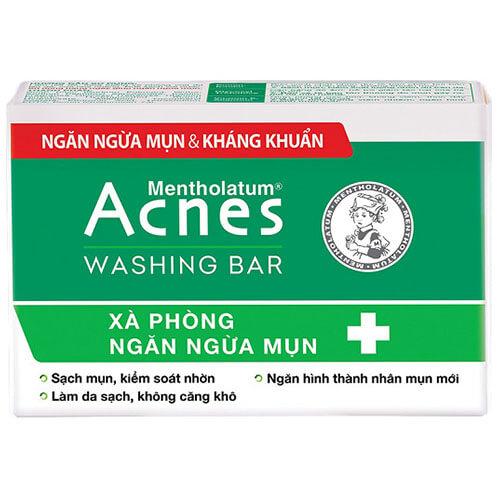 Acnes Washing Bar - Xà phòng kháng khuẩn và ngăn ngừa mụn - Giá 60000đ