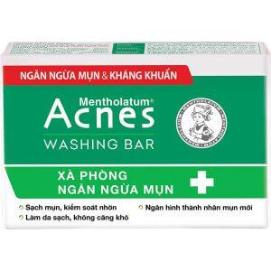 Acnes Washing Bar - Xà phòng kháng khuẩn và ngăn ngừa mụn - Giá 60.000đ
