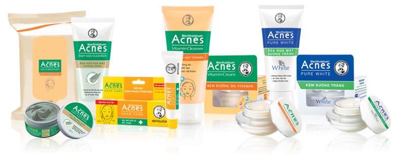 Bộ sản phẩm trị mụn Acnes ngăn ngừa mụn