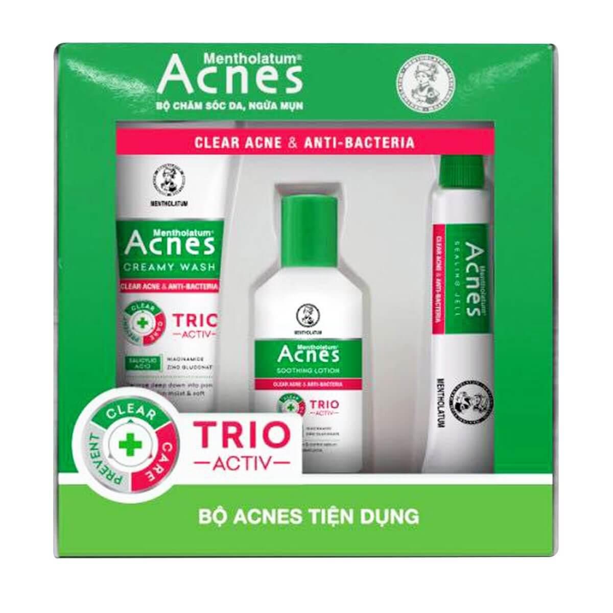 Bộ sản phẩm Acnes Tiện Dụng - Acnes Trial Set