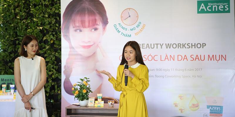 Cách chăm sóc da sau mụn của beauty blogger Mailovesbeauty