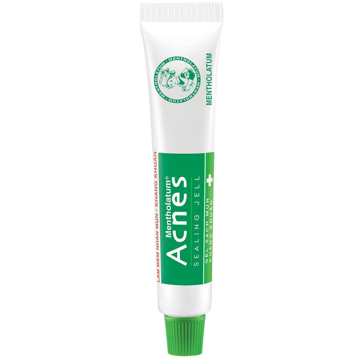 Gel tri mun, acnes sealing jell, gel ngan ngua mun acnes