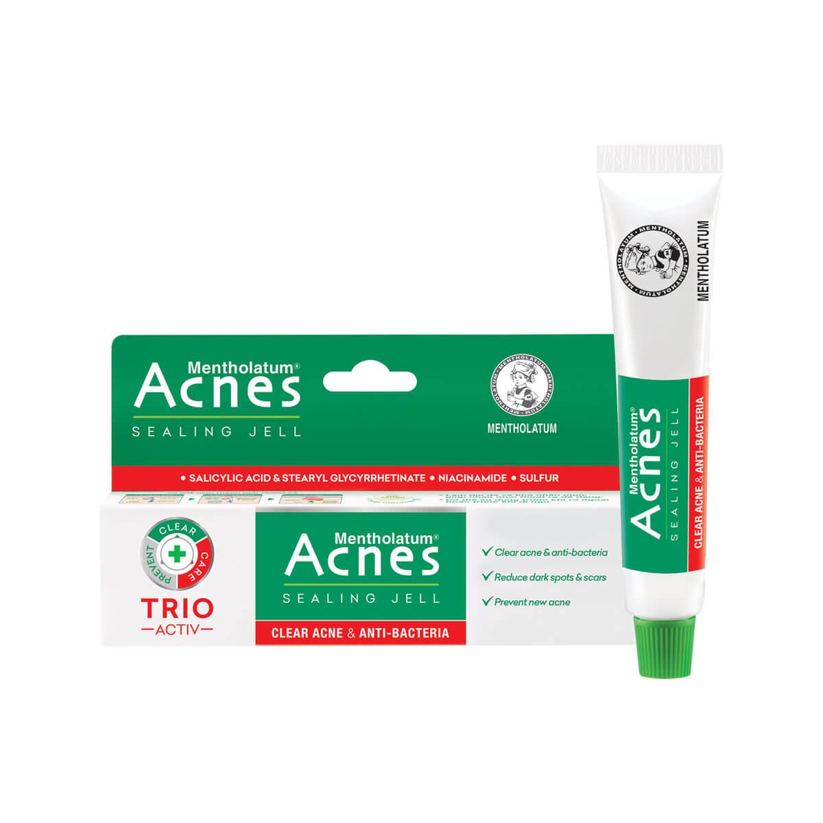 Acnes Sealing Jell - Gel Ngừa Mụn, Kháng Khuẩn. Giúp bạn trị mụn bọc, mụn đầu đen và các loại mụn khác