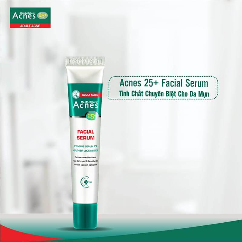 Tinh chất Acnes 25+ Facial Serum giúp da trưởng thành hết mụn an toàn