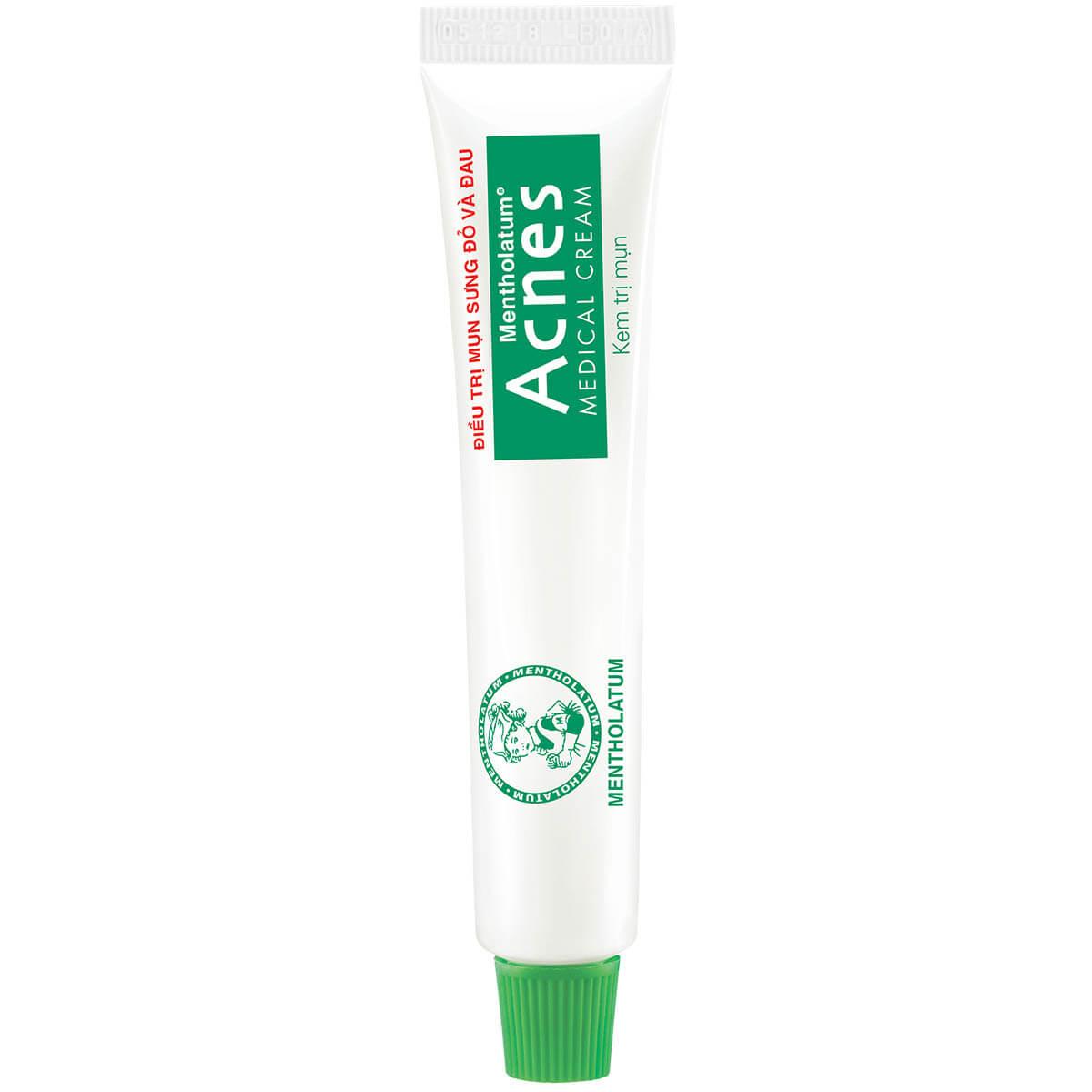 Kem trị mụn Acnes Medical Cream - Điều trị mụn bọc, mụn sưng đỏ
