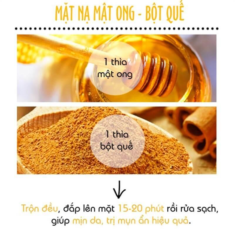 Cách trị mụn ẩn dưới da bằng mật ong