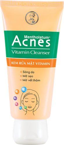 kem rửa mặt acnes vitamin cleanser giúp bảo vệ da khỏi ảnh hưởng môi trường ben ngoài