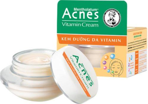 bảo vệ da và làm sáng da nhờ acnes vitamin cream