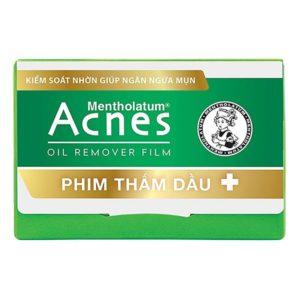 phim thấm dầu acnes bảo vệ da khỏi bít lỗ chân lông