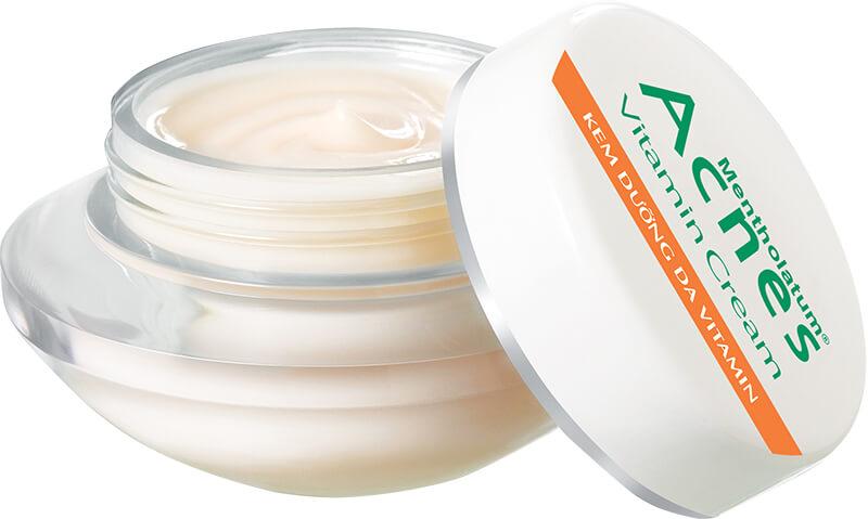 chăm sóc da - acnes vitamin