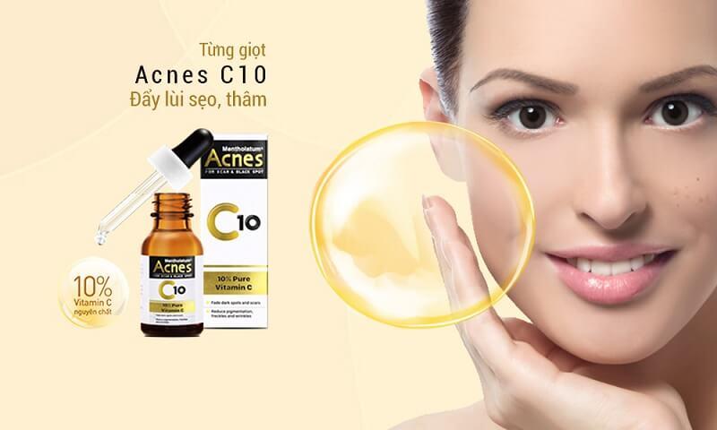 Chăm sóc da với Acnes C10