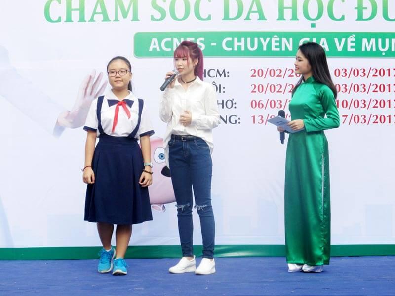 chương trình chăm sóc da học đường acnes 2017 tổ chức tại các tỉnh, thành phố