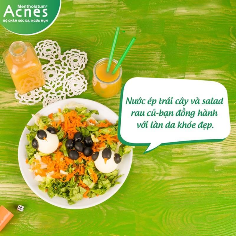 da khô cần chú ý hơn về chế độ dinh dưỡng