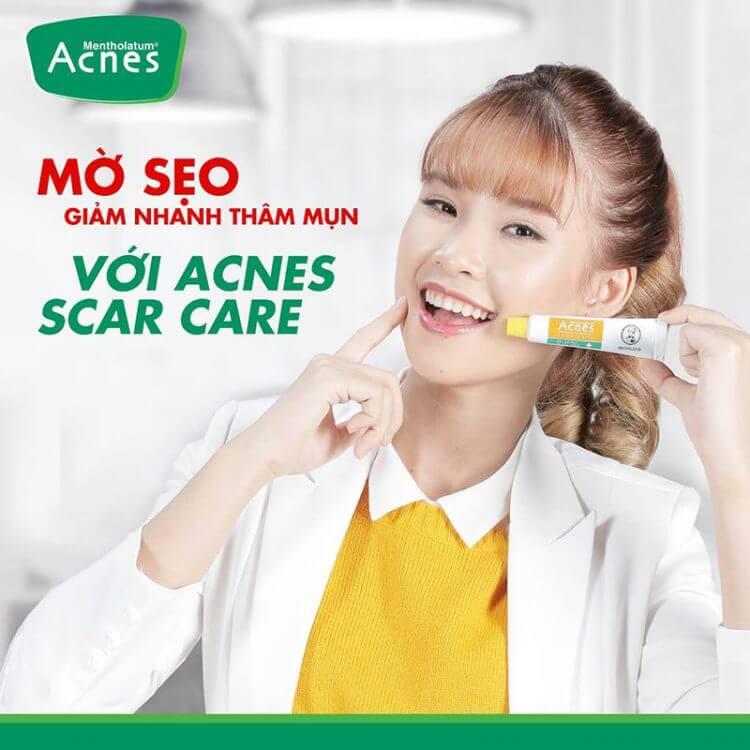 trị thâm mụn bằng acnes kem trị thâm mụn tốt nhất