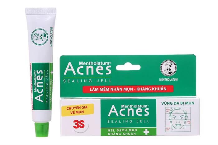 dùng thuốc trị mụn hiệu quả acnes sealing jell ngăn ngừa và trị mụn hiệu quả