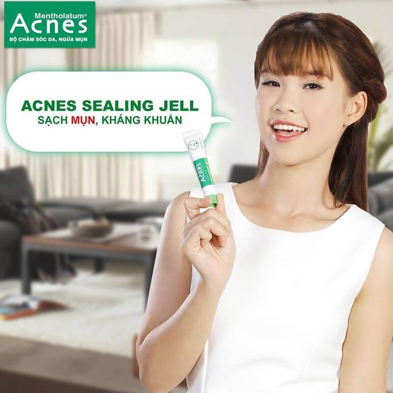 acnes sealing jell thuốc trị mụn hiệu quả cho da nhạy cảm