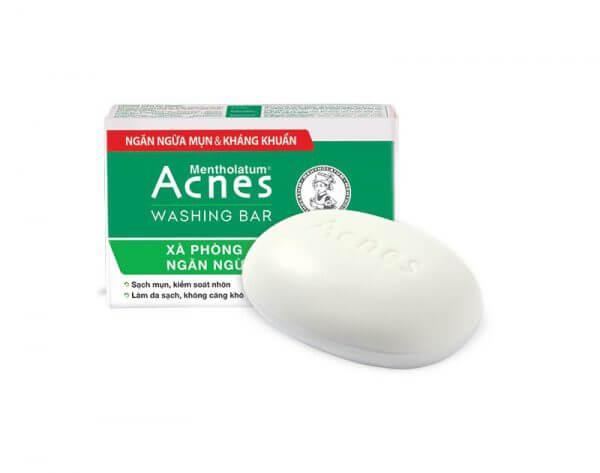 acnes washing bar trị mụn cơ thể hiệu quả