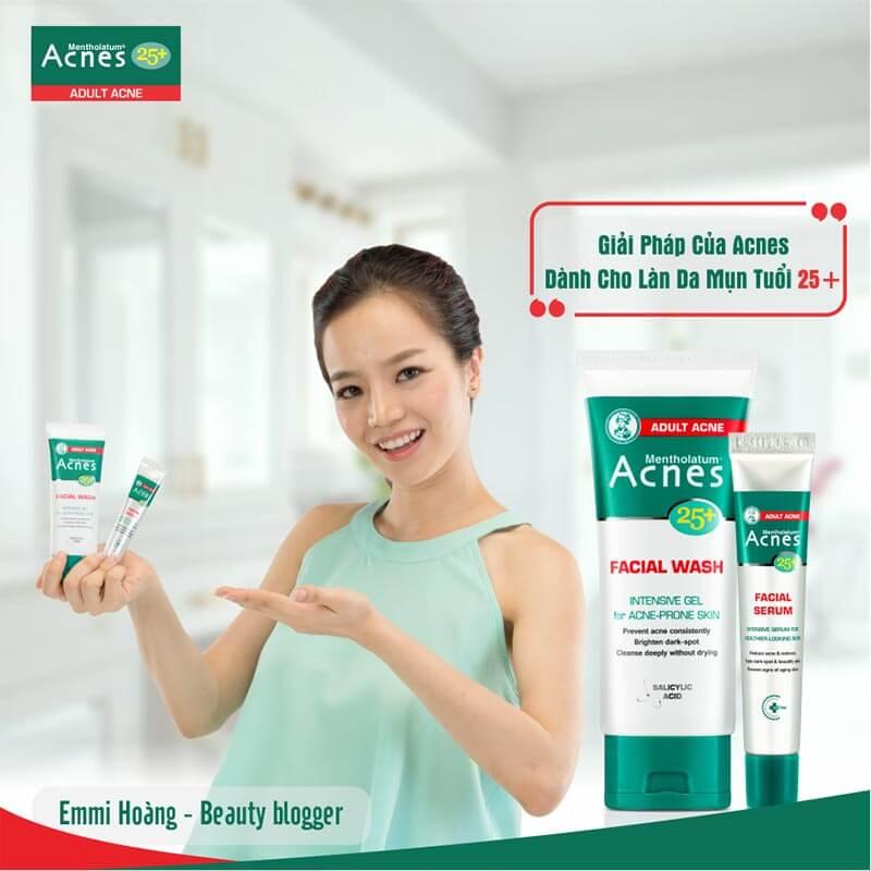 Lý giải về cái tên 25+ cùng Acnes , bộ đôi chăm sóc da , cách trị mụn và chống lão hóa ở tuổi trưởng thành