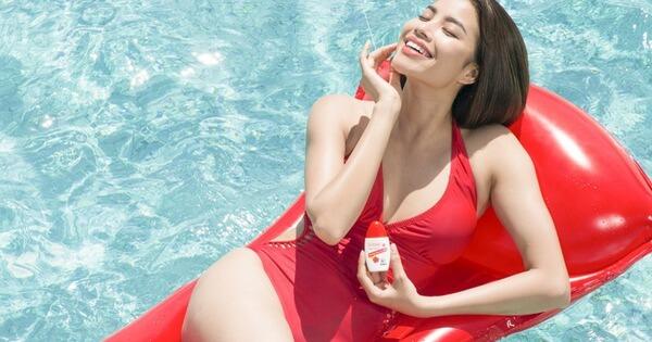 Kem chống nắng là sản phẩm không thể thiếu trong quá trình điều trị thâm mụn