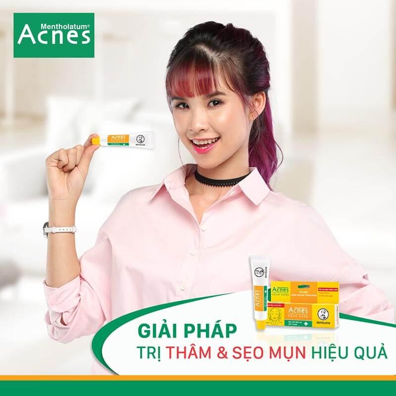 acness scar care trị thâm mụn và sẹo hiệu quả