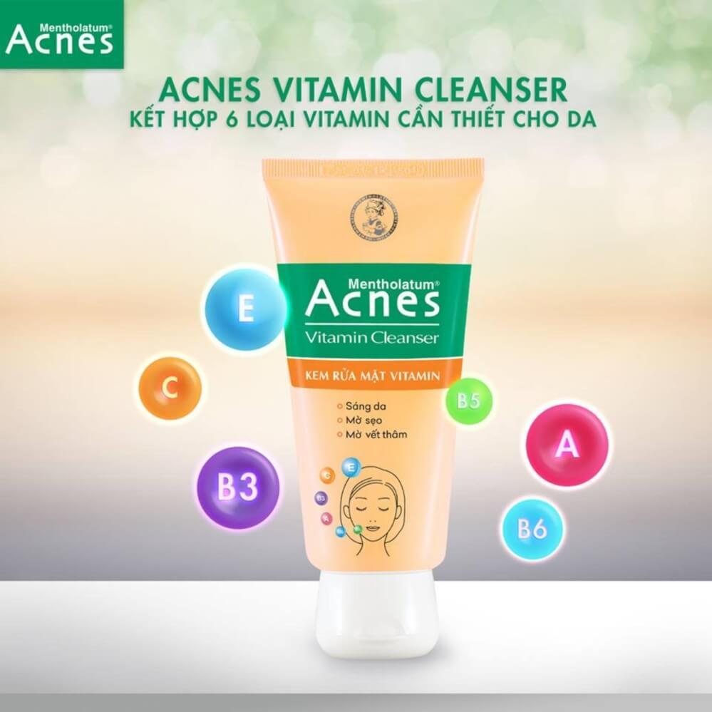 Acnes Vitamin Cleanser, giải pháp làm sạch hiệu quả cho làn da