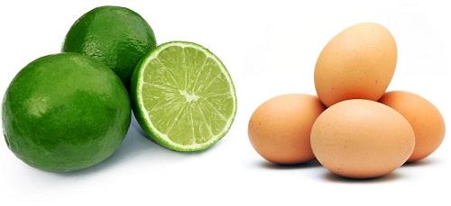 Lòng trắng trứng giúp lấy đi mụn đầu đen một cách dễ dàng