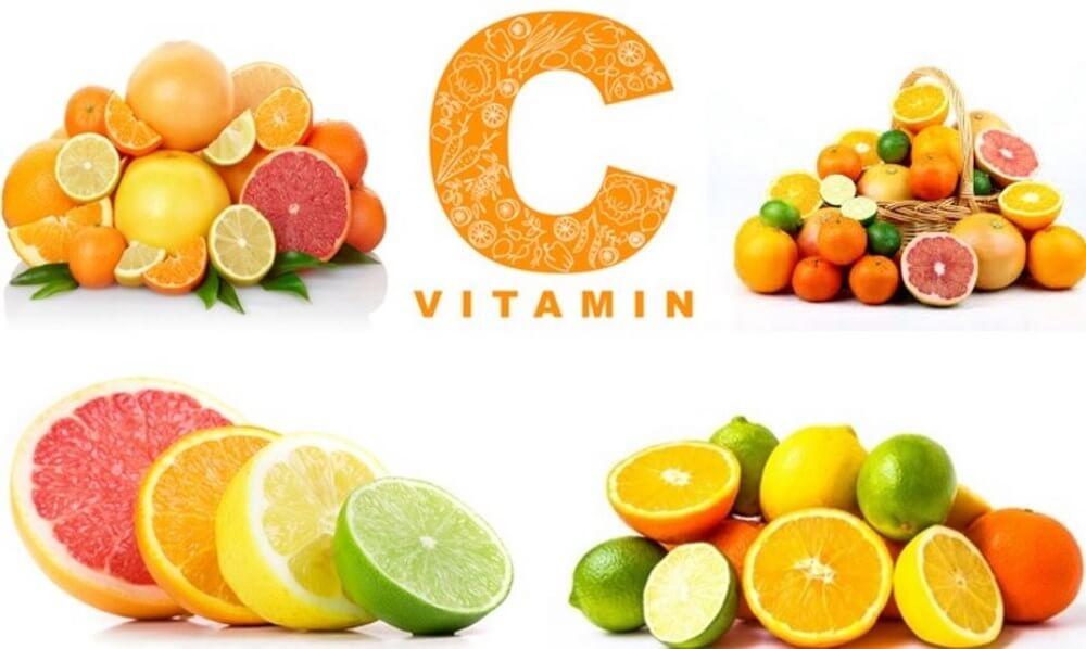 acnes vitamin với dưỡng chất vitamin C