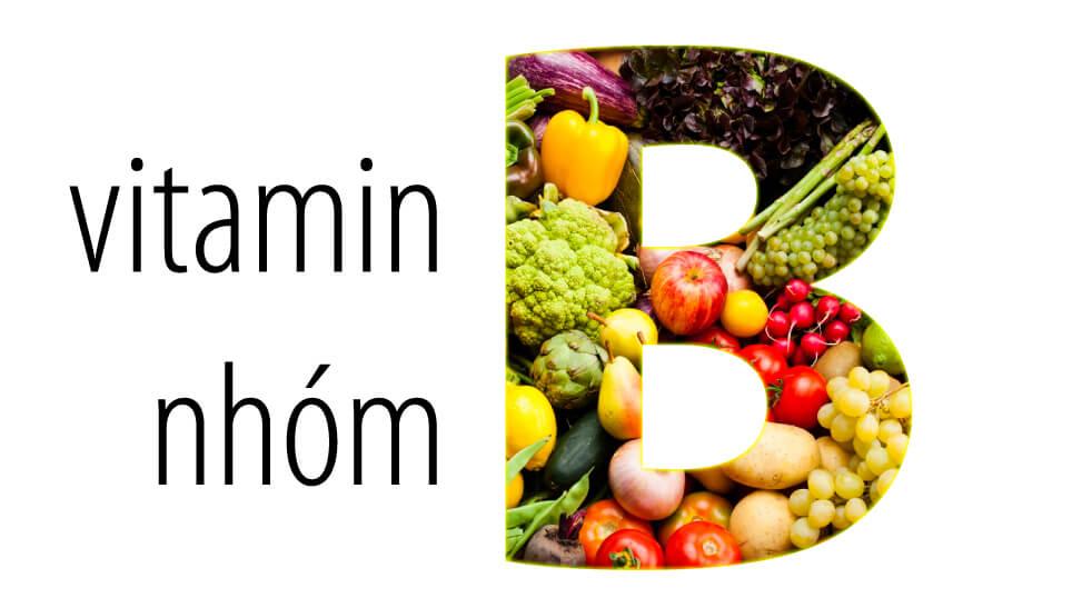 vitamin nhóm B là thành phần quan trọng trong acnes vitamin