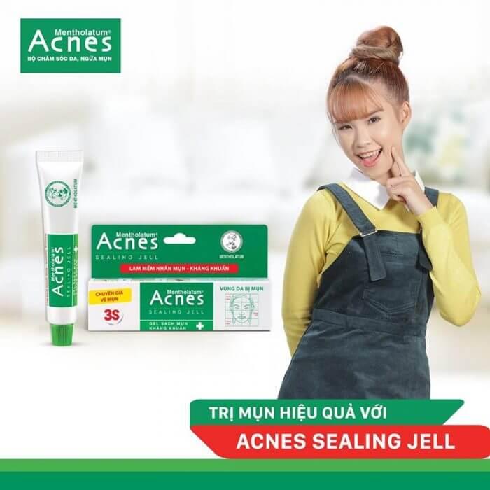 Gel Acnes trị mụn giúp trị mụn hiệu quả