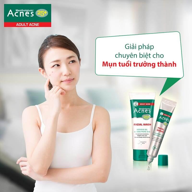 Chăm sóc da ở tuổi 25 cùng bộ sản phẩm 25+ chuyên biệt do làn da ở tuổi trưởng thành.
