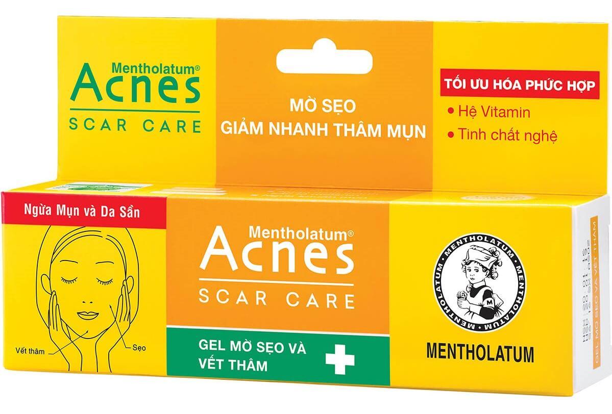 Kem trị thâm Acnes Scar Care với nhiều ưu điểm nổi trội