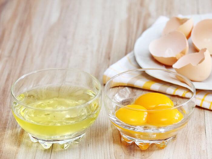 Mặt nạ lòng trắng trứng gà có khả năng làm da căng mịn