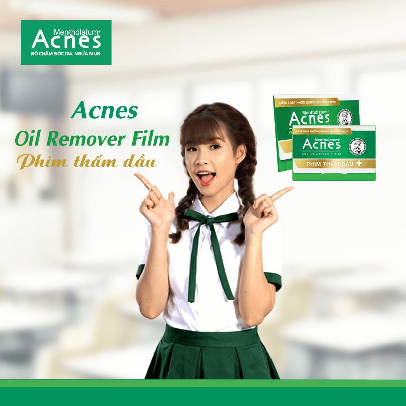 Phim thấm dầu acnes ngăn ngừa mụn