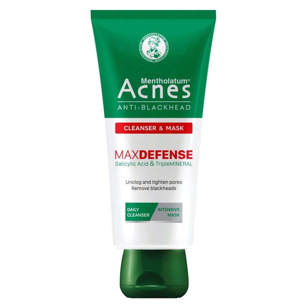 Sữa rửa mặt kết hợp mặt nạ trị mụn đầu đen chuyên biệt acnes anti blackhead cleanser mask giúp trị mụn đầu đen hiệu quả