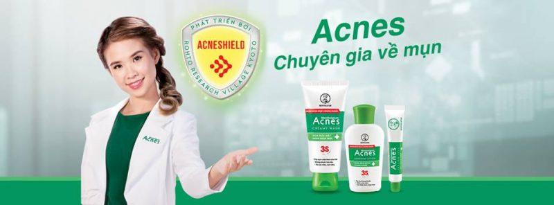 Acnes - người bạn đồng hành cùng bạn để có làn da khỏe mạnh sạch nhờn