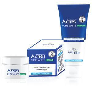 Bộ sản phẩm dưỡng trắng Acnes Pure White