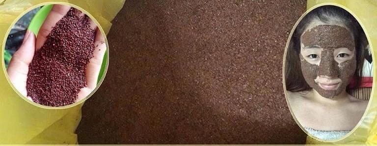 Bước 1: Chuẩn bị khoảng 20g hạt đình lịch ngâm vào bên trong nước nóng hoảng 40 độ. Để trong vòng 5 phút. Bước 2: Đổ phần nước đó ra, đánh nhuyễn rồi đắp lên mặt. Đặc biệt là những vùng da có nhiều mụn ẩn. Bước 3: Bạn đợi đến khi hỗn hợp khô lại thì bóc ra. Rửa sạch mặt với nước ấm.
