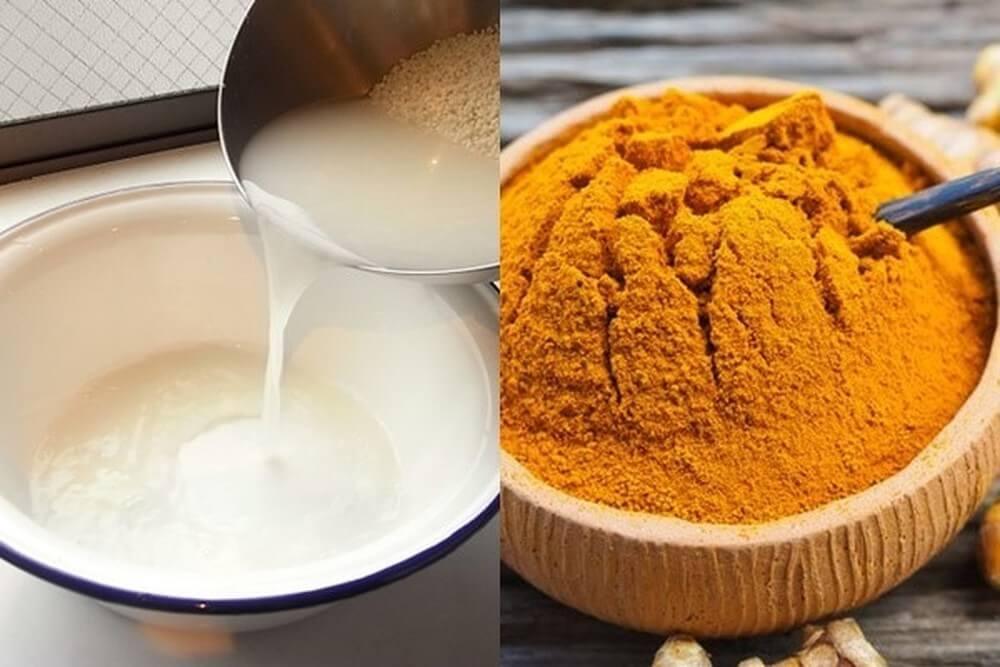 Đối với phương pháp trị mụn ẩn bằng tinh bột nghệ và nước vo gạo này, bạn nên áp dụng 2-3 lần/ tuần. Phương pháp này sẽ giúp loại các loại mụn, đặc biệt là mụn ẩn dưới da, đồng thời tái tạo làn da sáng mịn và không để lại sẹo mụn. Lý do là vì tinh chất curcumin có trong nghệ và vitamin B trong cám gạo. Những làn da nhạy cảm hay dễ bị kích ứng thì vẫn có thể sử dụng mặt nạ này mà vẫn an toàn.